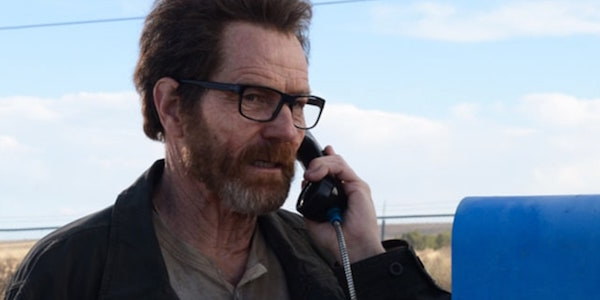 walter on the phone breaking bad finale