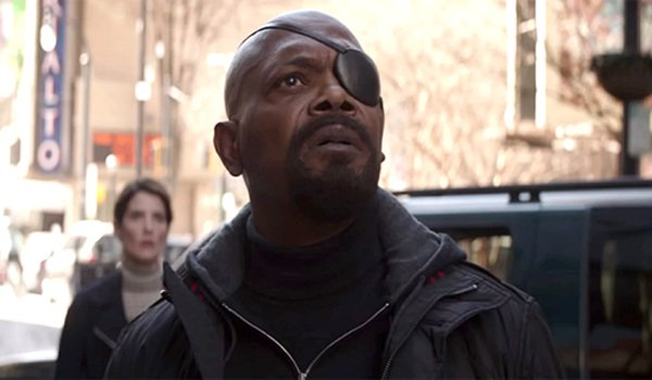 Samuel L. Jackson as Nick Fury Avengers: Infinity War Marvel