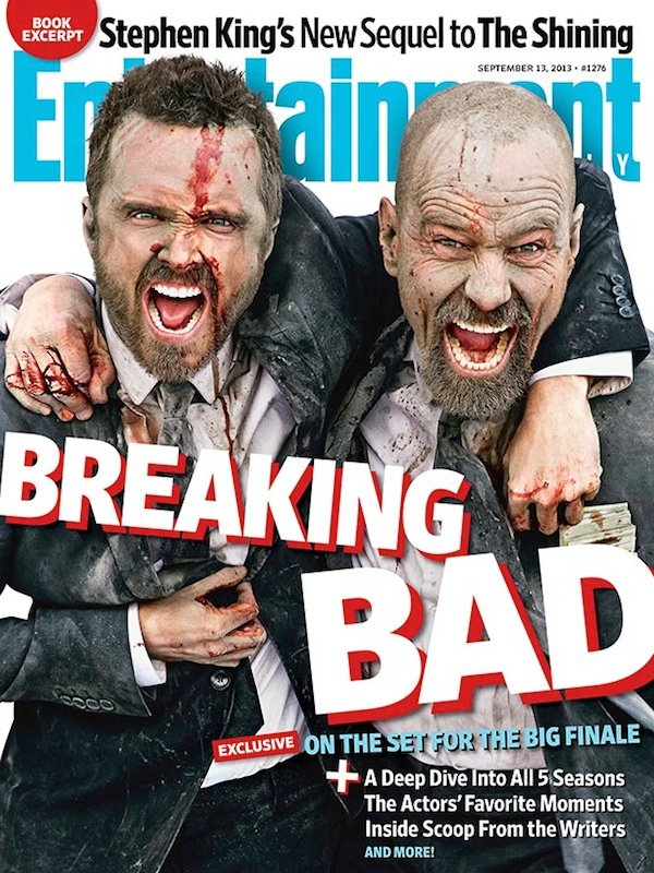 Breaking Bad EW cover