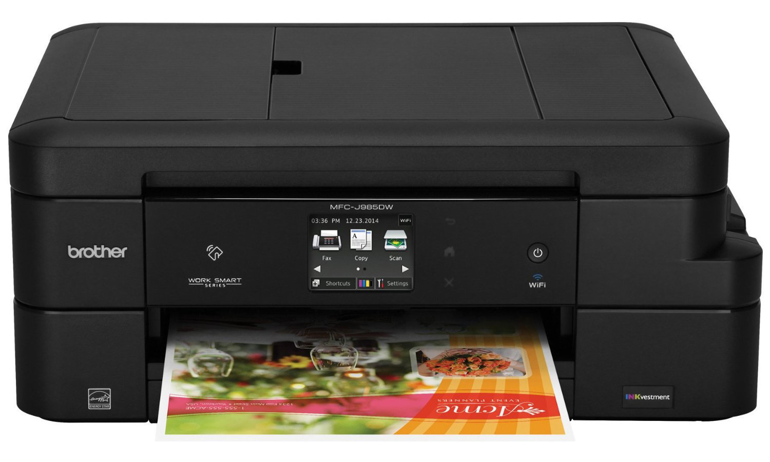 Brother MFC-J985DW Printer: A Cost-Per-Page Champ | Tom's Guide