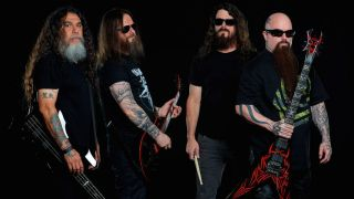 Slayer will head out on the road for 16 more dates – and they'll be joined by Lamb Of God, Amon Amarth and Cannibal Corpse