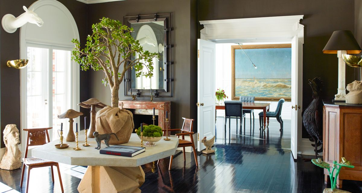 Founder of 1st Dibs Michael Bruno opens his historic New York home to H&G