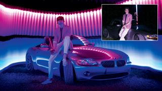 Home photography ideas: Miami Vice-style portraits