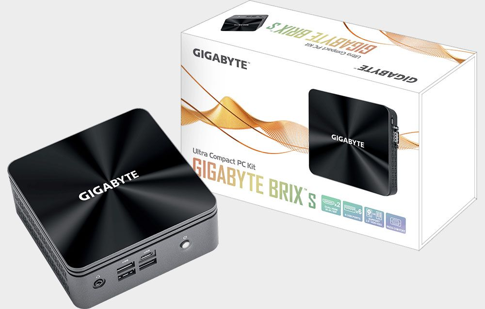 Gigabyte updates its Brix mini PC line with Intel's newest processors