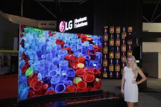 LG Electronics Debuts OLED Digital Signage