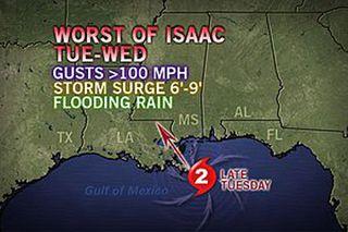 hurricane Isaac, tropical storm Isaac