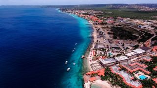 The island of Bonaire is a popular diving destination.
