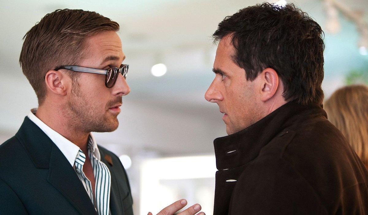 Crazy, Stupid, Love Ryan Gosling explains fashion to Steve Carell