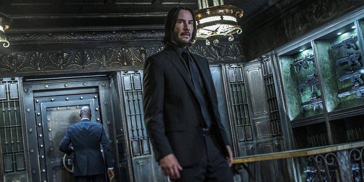 Keanu Reeves as John Wick in Chapter 3 - Parabellum