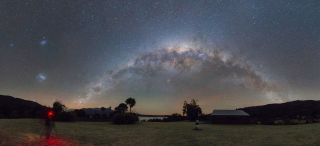 Milky Way From New Zealand