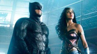 Ben Affleck's Batman and Gal Gadot's Wonder Woman in Justice League