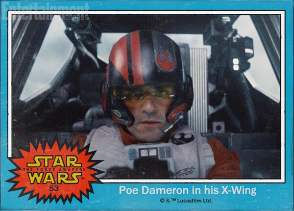 Star Wars The Force Awakens Trading Cards