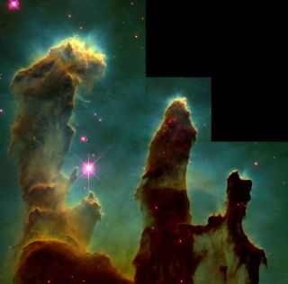 Hubble Space Telescope's iconic view