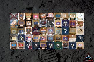 Missing Apollo 11 Moon Rock Displays