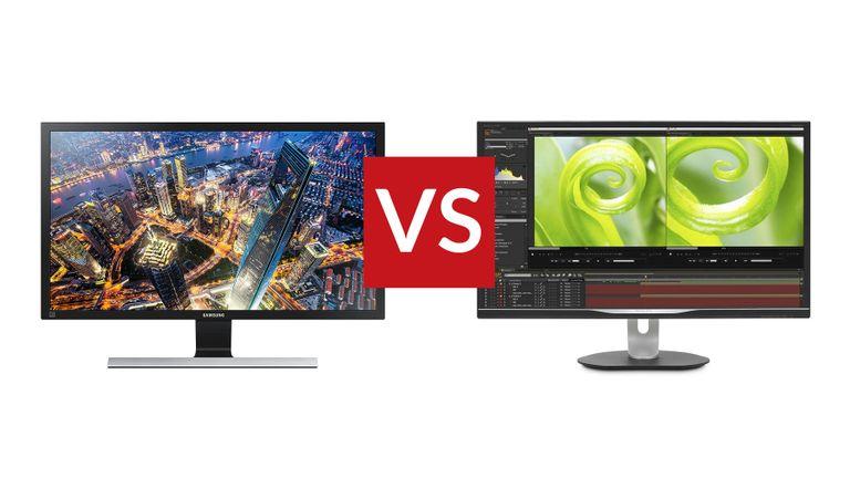 Philips Brilliance 328P vs Samsung U28E590D