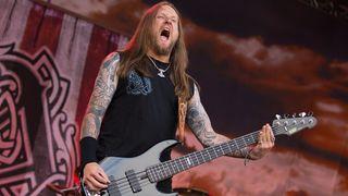 Amon Amarth bassist Ted Lundström