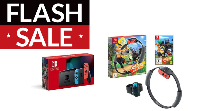 Prime Day Nintendo Switch and Ring Fit Adventure deal