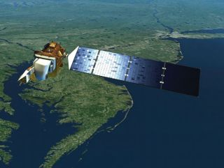 Earth Observing Satellite NASA
