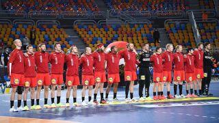 Spillere på Danmarks herrelandshold i håndbold