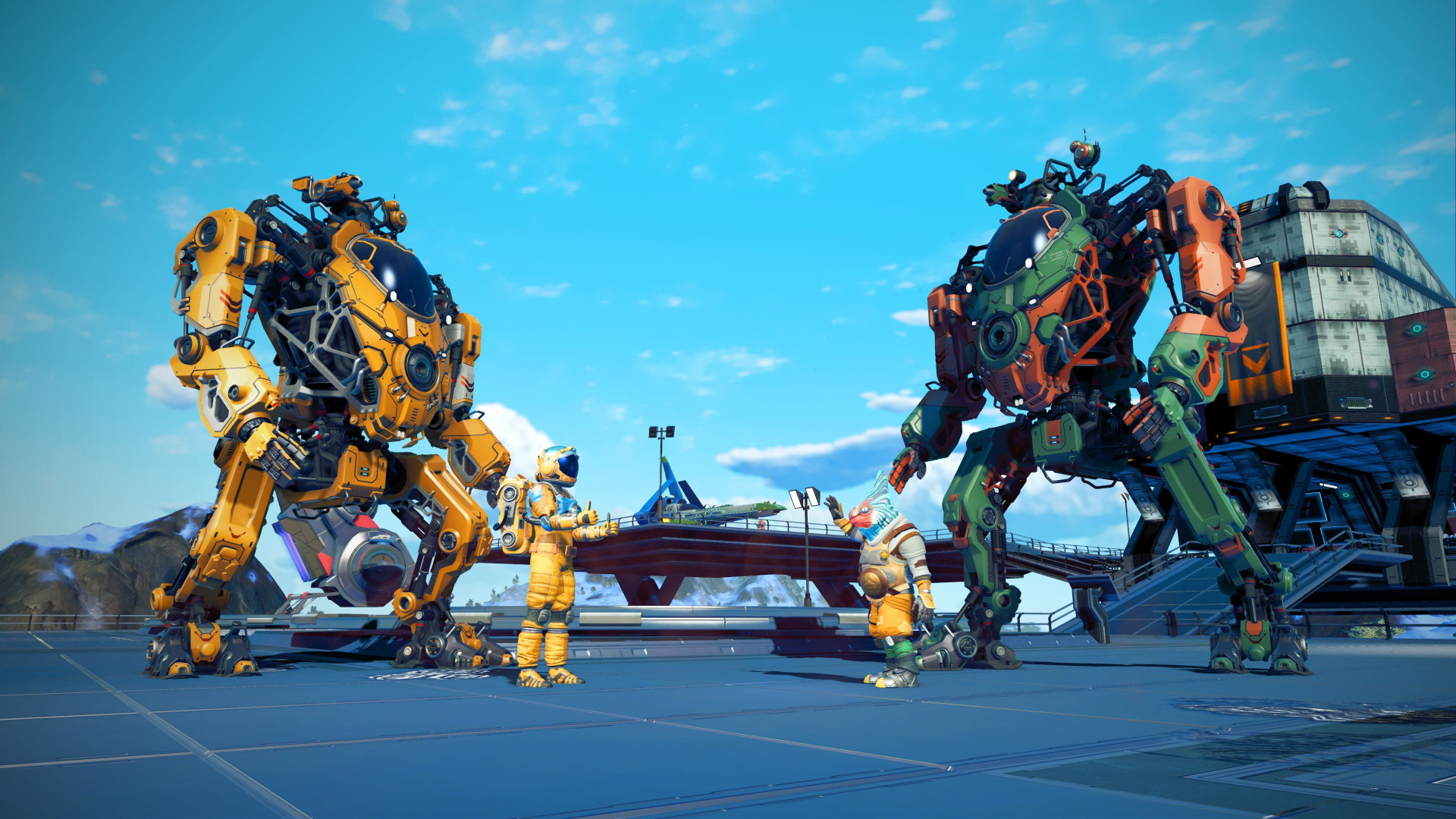 No Man S Sky Just Added Mechs And This Game Keeps Getting More