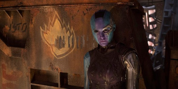 Nebula in Guardians 2