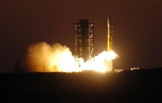 Minotaur Rocket Makes Sunrise Launch from Virginia Spaceport