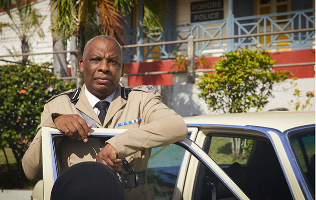 Death in Paradise star Don Warrington as the Commissioner