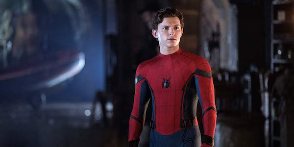 Tom Holland as Peter Parker in Spider-Man: Far From Home
