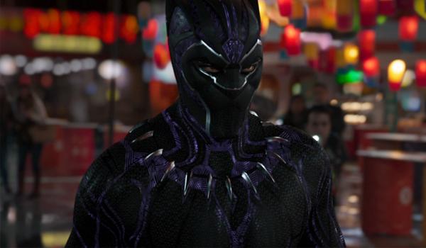 Black Panther eyes open south korea chadwick boseman