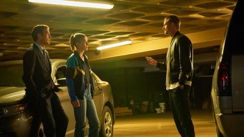 Joel Kinnaman stars opposite Clive Owen and Rosamund Pike in the crime thriller 'The Informer'.
