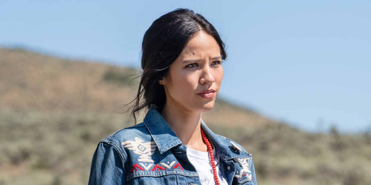 Yellowstone Monica Long Dutton Kelsey Asbille Paramount Network