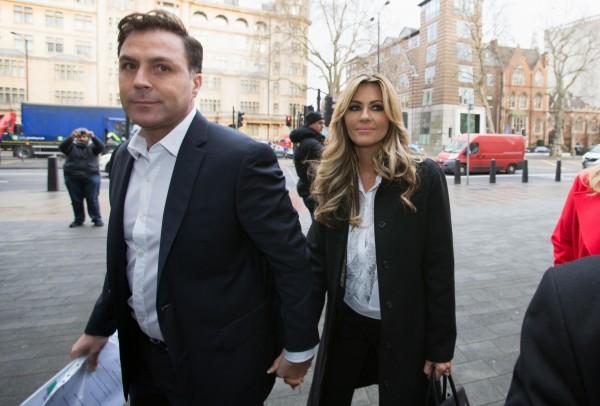 Dawn Ward and her husband Ashley