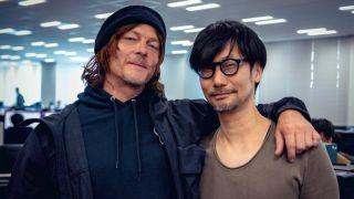 Hideo Kojima and Norman Reedus