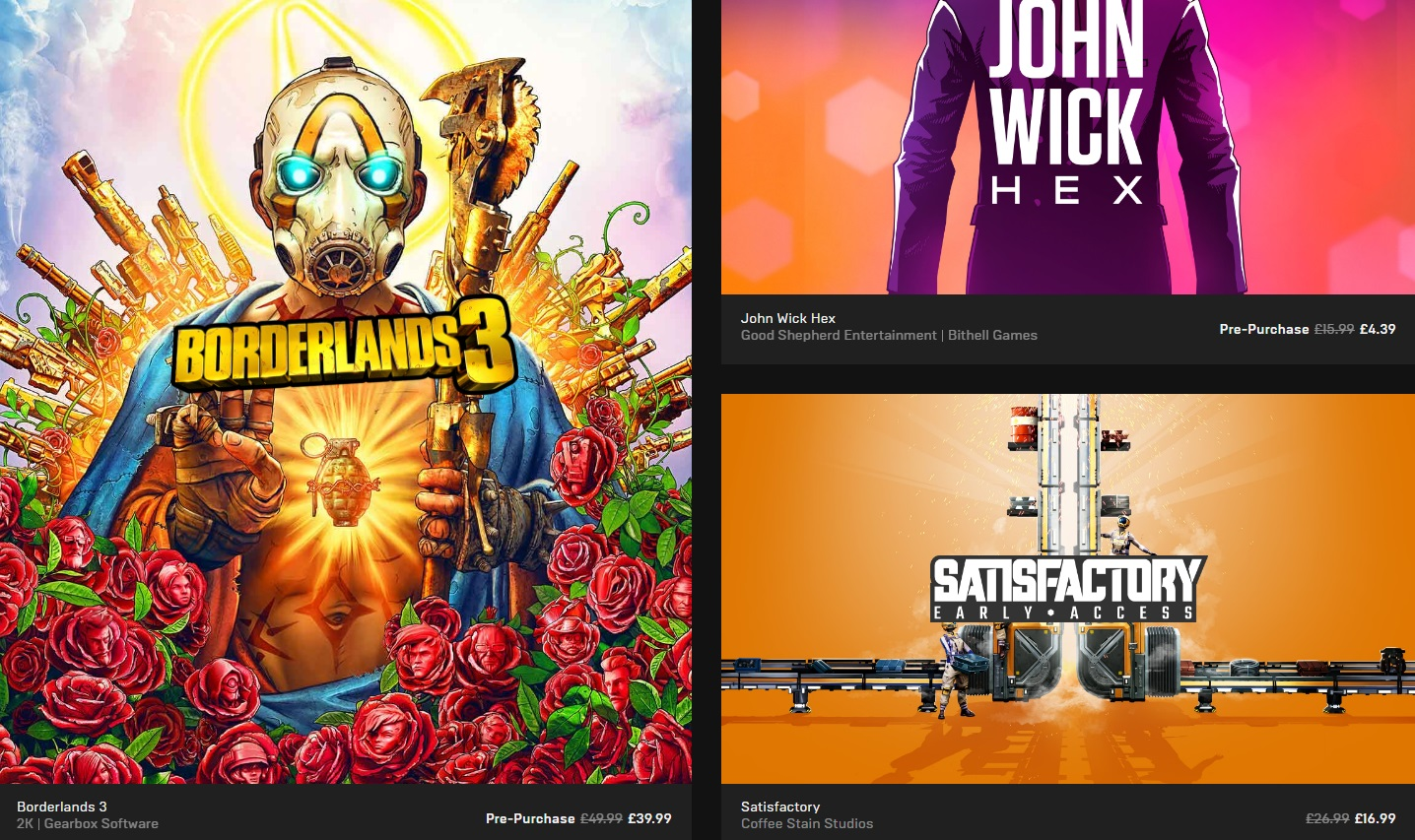 The Epic Games Store's first big sale is live, includes a free game every week   PC Gamer
