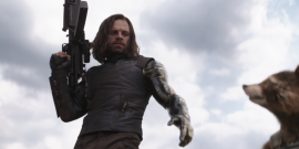 Avengers: Infinity War Set Photo Reveals How Bucky And Rocket's Team-Up Was Filmed