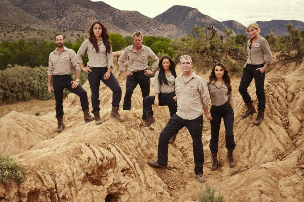 The celebrities taking part in Bear Grylls: Mission Survive