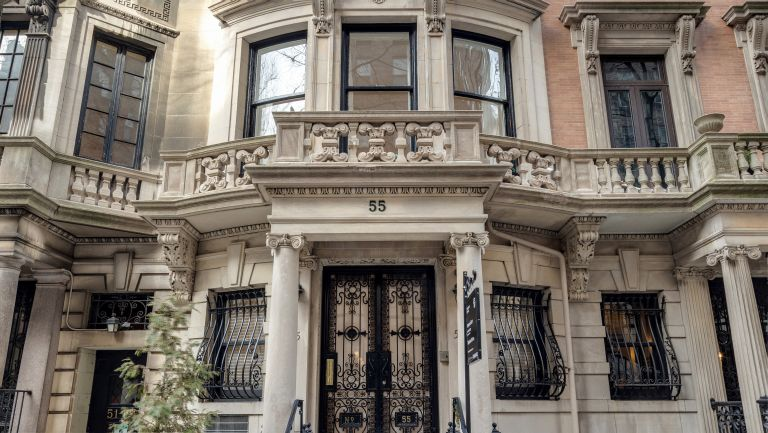 Exterior of Eleanor Roosevelt house in the Upper East Side