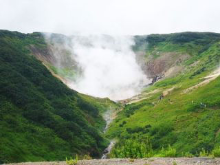 Microbes found in a single geothermal hot spring in the Mutnovsky Volcano region of Kamchatka, Russia appear to be in the process of splitting into separate species.