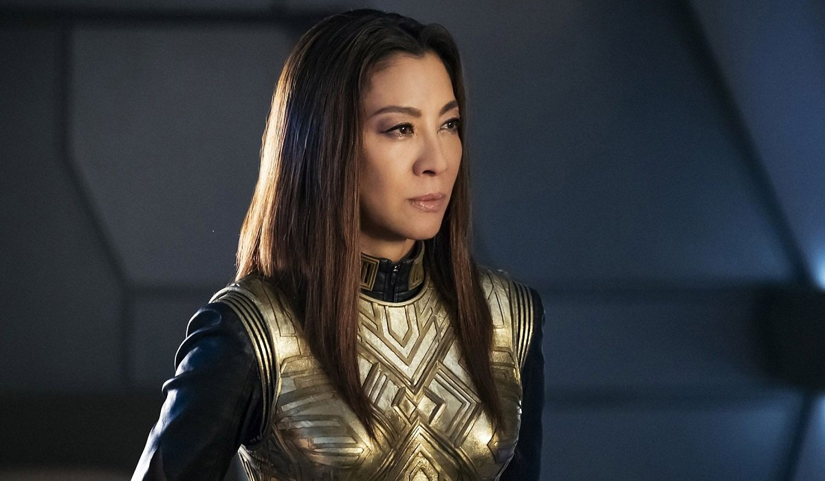 Georgiou Looking Serious Star Trek: Discovery CBS All Access