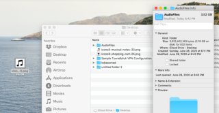 How to change folder icons or color on a Mac