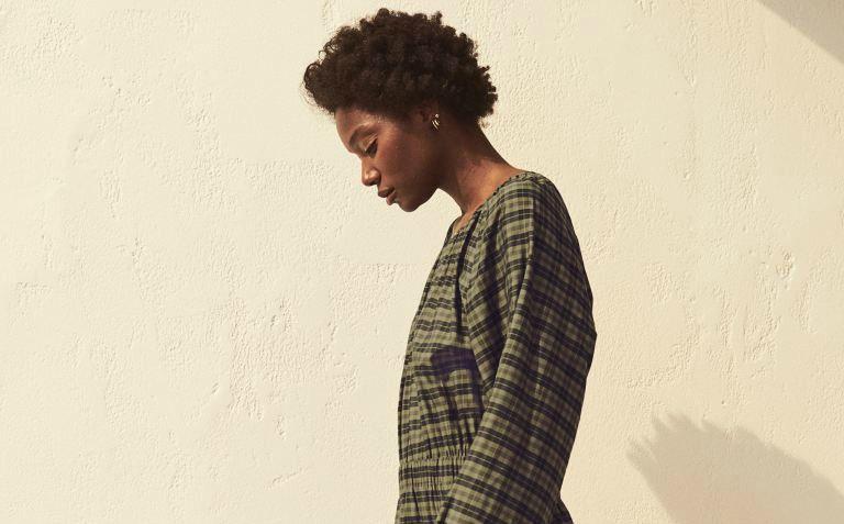 H&M modal-blend dress
