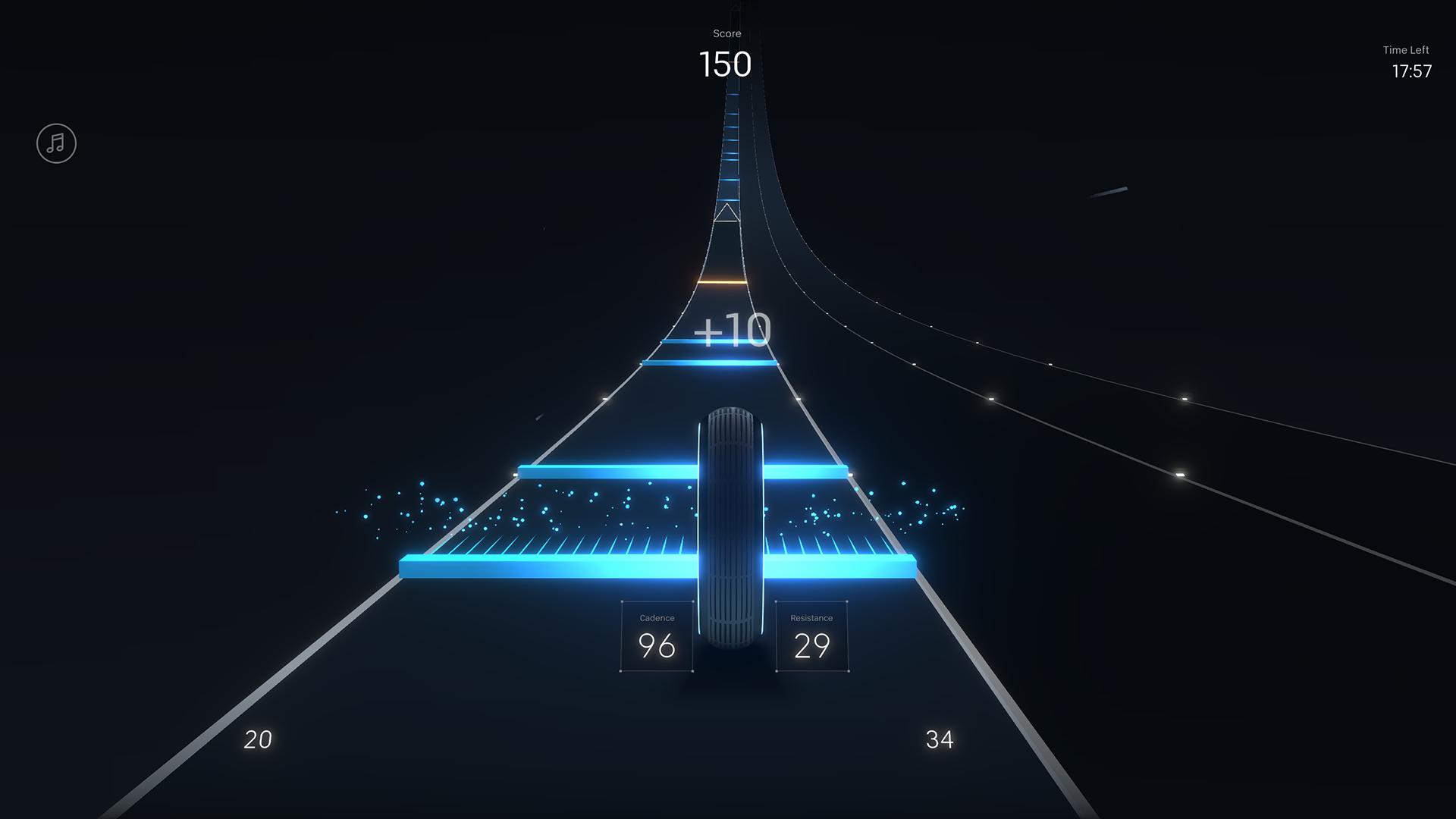 Peloton Lanebreak gameplay screengrab