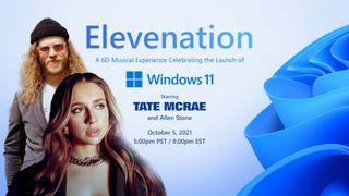 Windows 11 live concert ad