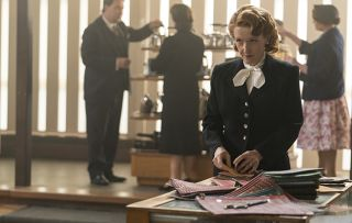 Grantchester + Cathy at work