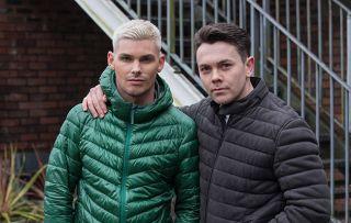 Ste Hay and Jonny Baxter