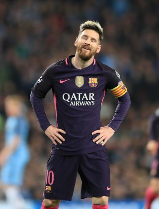 Lionel Messi asked to leave Barcelona in August.