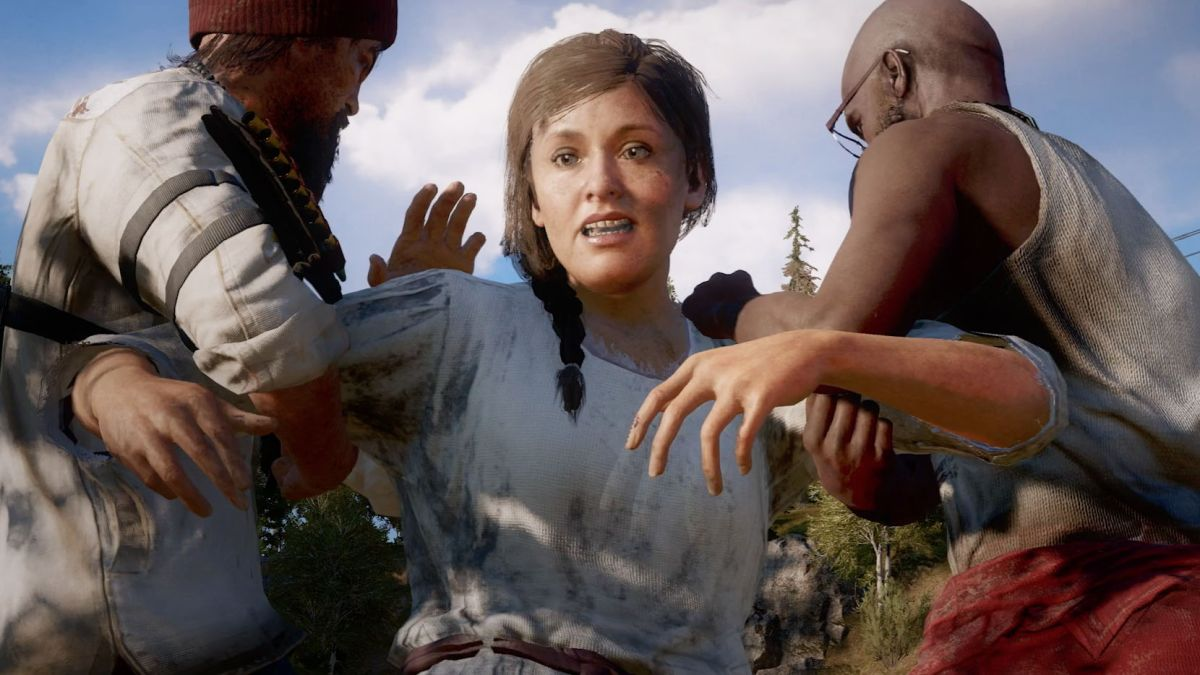 Far Cry 5 seems to be tangling with bold, contemporary