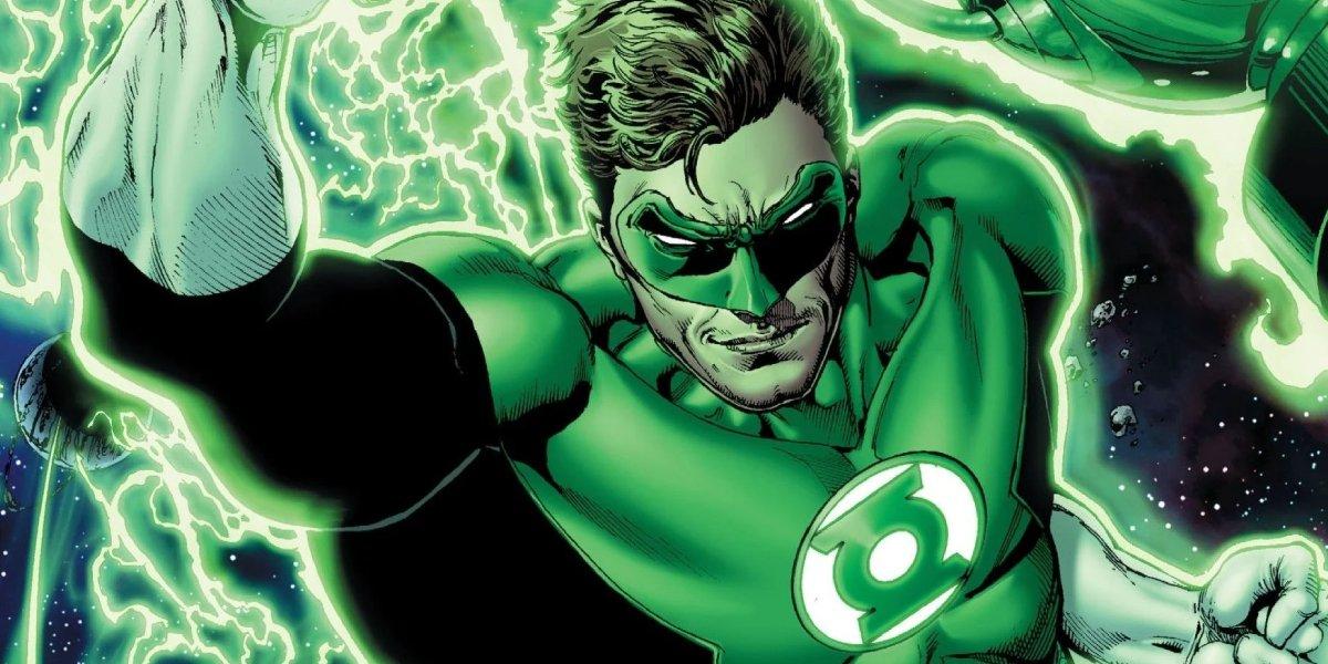 Hal Jordan is Green Lantern
