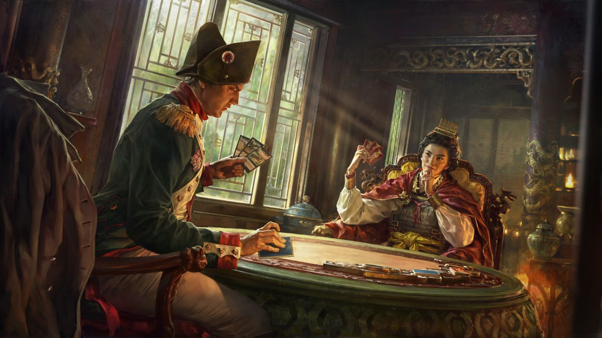 Total War's free-to-play collectable card game gets its first gameplay trailer