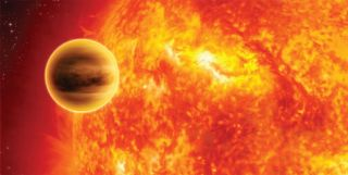 Newfound Planet Might Be Near Death
